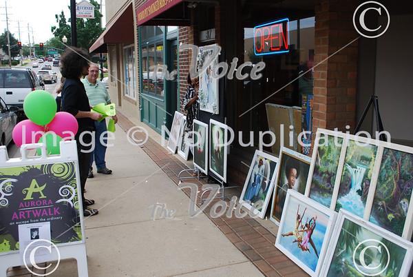 Aurora ArtWalk in Aurora, IL 6-5-10