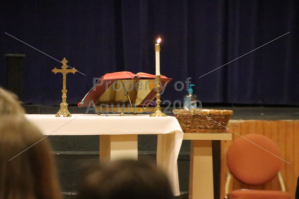 aquin ring ceremony mass . 12.17.19