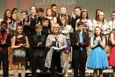 Mo Show -Middle School Awards Photos