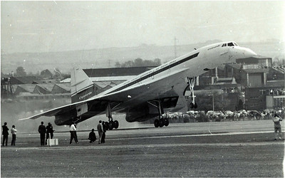 Concord takes a Maiden Flight