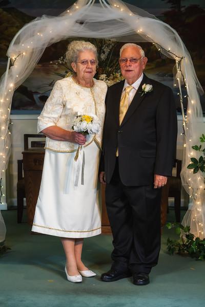 50th Wedding Renewal