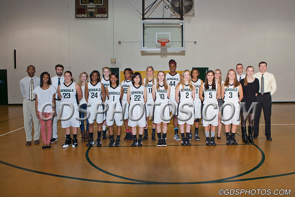 GIRLS BASKETBALL TEAMS 2013-14
