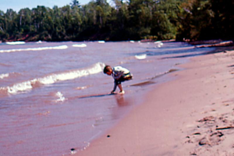 1975-08 - Randy at St Croix River