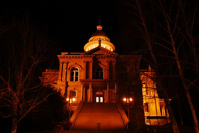 Auburn CourtHouse Night