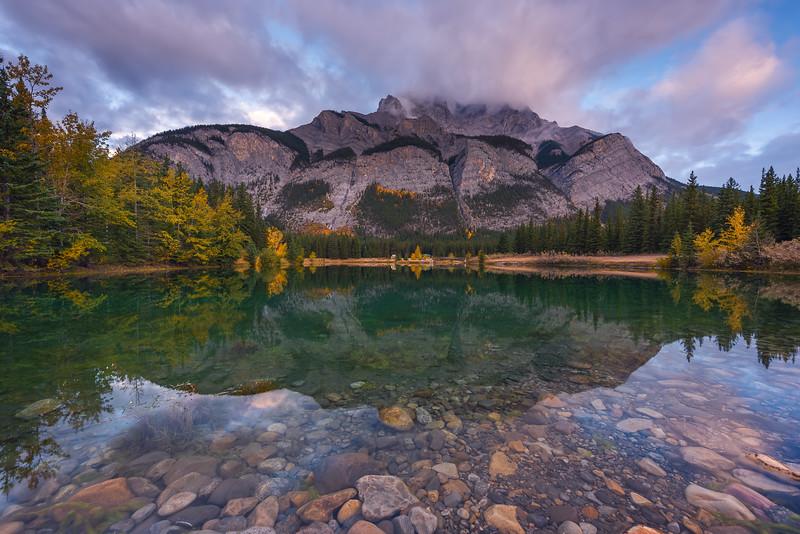 Cascade Ponds, Banff National Park. Alberta, Canada.