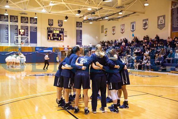 Women's Basketball Senior Day (Photos by Ben Gajewski)