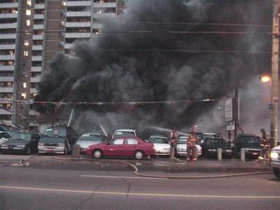 November 28, 2002 - 3rd Alarm - 3120 Danforth Ave.