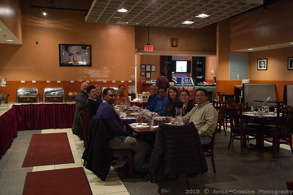 2018 IBM Team Dinner @ Schaumburg IL