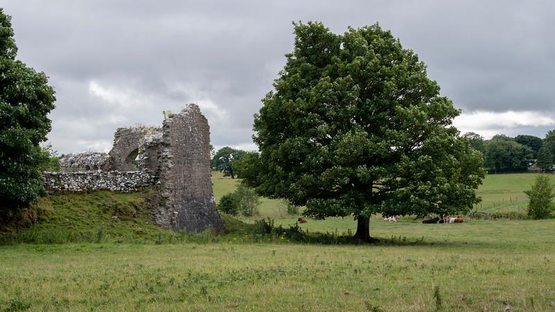 Ruines of acastle, Castlebar, County Mayo, Ireland