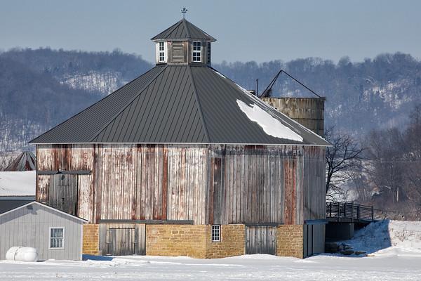 Sauk County Barns