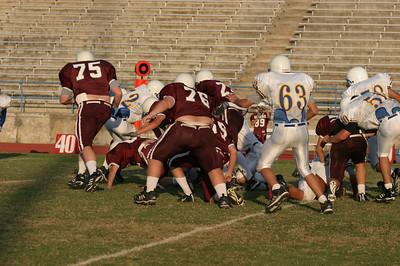 Pflugerville Panthers Freshmen vs. Round Rock Dragons, October 16, 2003