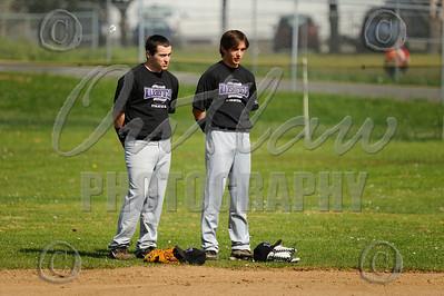 Marshfield vs North Bend - April 1, 2010 - Varsity Baseball