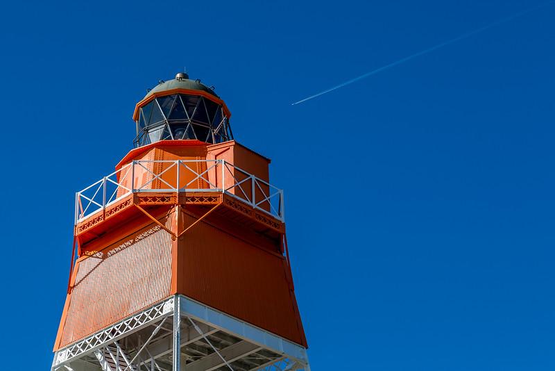 Spitze des «Farewell Spit Lighthouse»