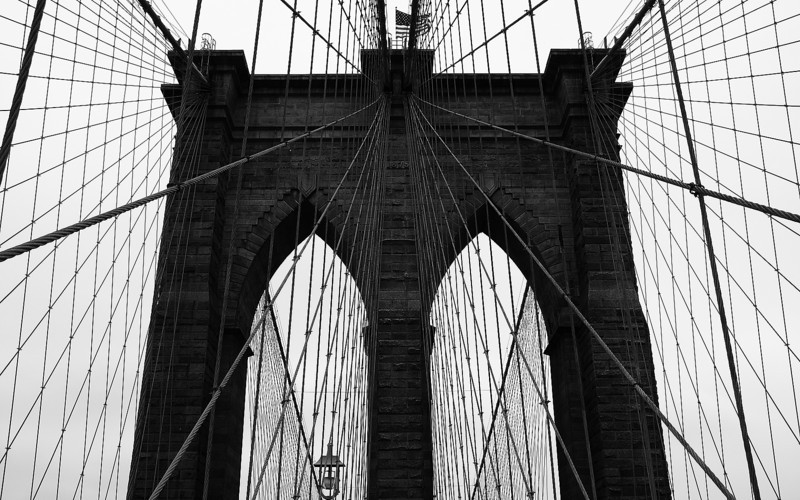 High Wires: The Brooklyn Bridge