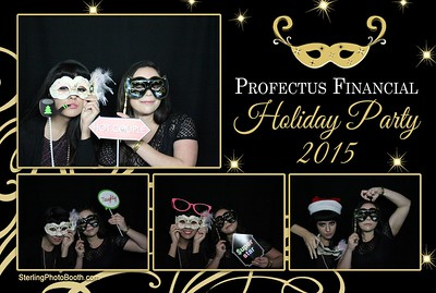 Profectus Financial Holiday Party 2015