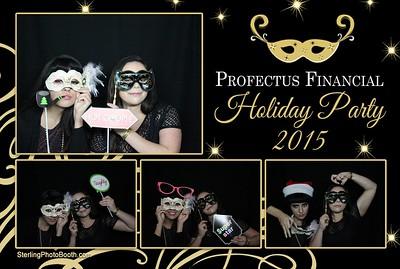 Profectus Financial Holiday Party 2015