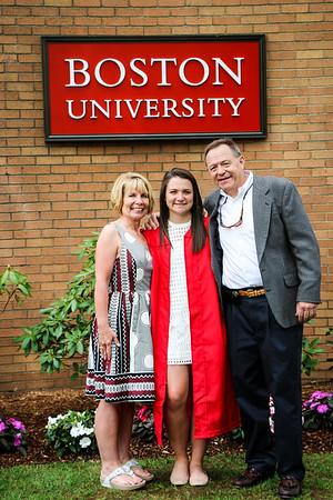 Jenna's Graduation from BU
