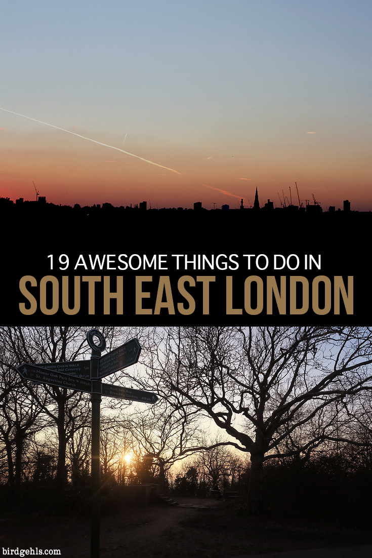 Visiting the UK's capital? Forget the north of the river, head south and turn left. Here's what you can get up to when visiting South East London, the most underrated part of the city. / #London / #UnitedKingdom / #England / #UK / London Travel / What to do in London / Where to stay in London /
