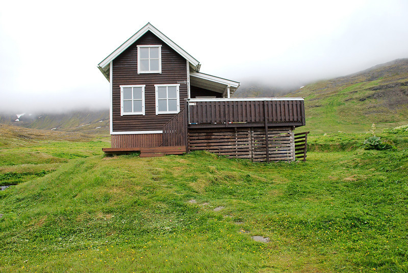Aðalvík - Sæból. Hjálmfríðarból. 2013.