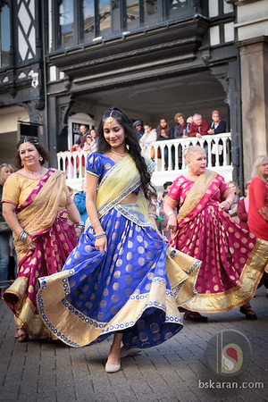Diwali Parade 2018 in chester