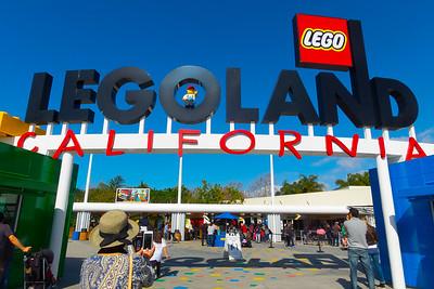 Carlsbad - Legoland - January 2016