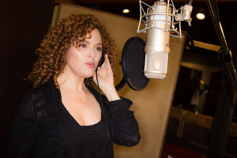 """Bernadette Peters at the Broadway for Orlando benefit single recording of """"What the World Needs Now Is Love"""" - June 15, 2016 - Avatar Studios, NYC (Photo: Jeremy Daniel)"""