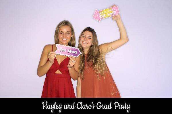 """Hayley & Clare's """"Grad Party 2018"""""""
