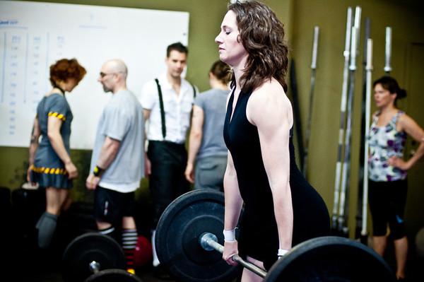 Crossfit CapOp Ladies and Gents Challenge 04.2012