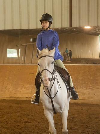 Dec 2019 Opal's riding lesson