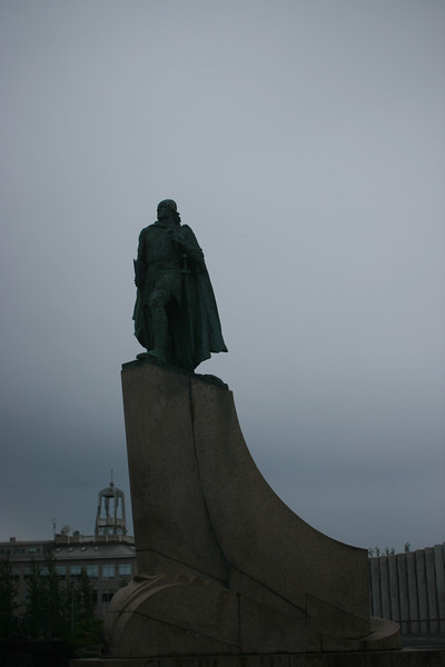 America gave Iceland this statue of Leif Eiriksson.