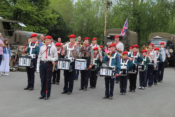 2019-05-19 Drums Playing at the Foxfield Railway