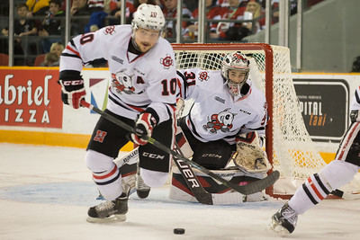 IceDogs vs 67s, playoffs, 150328