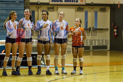 Boone Girls Varsity Volleyball - 2015