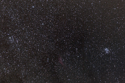 Omgeving M45 - California Nebula - Mirfak