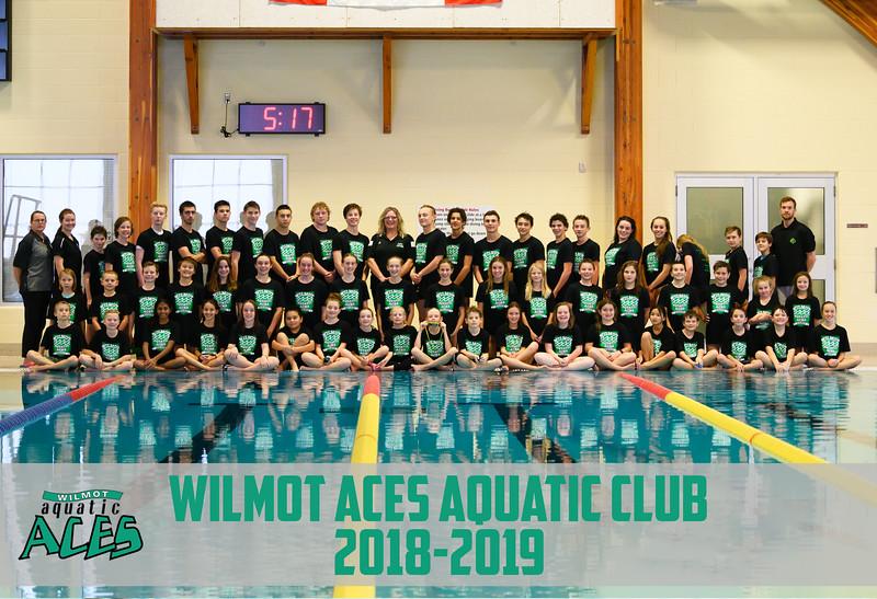 Wilmot Aces Aquatic Club Team Photo