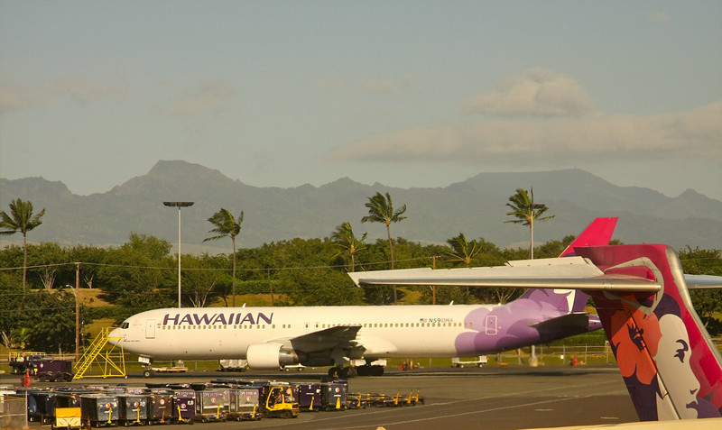 Honolulu airport, Oahu