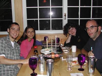 DG&VF 2004 Anniversary Sushi