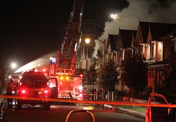 Markham, ON - July 13, 2010 - Explosion + Fire - 173 Morning Dove Drive