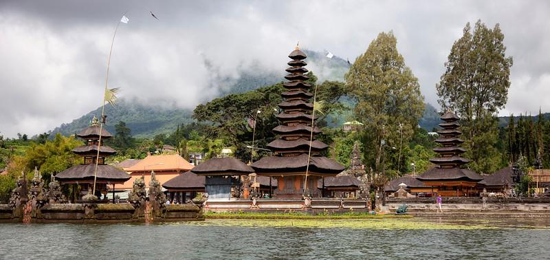Pura Ulun Danu Bratan Temple at Lake Bratan