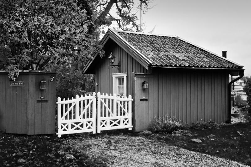 Сарай и ворота / Barn and Gate