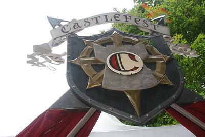 Castlefest 2008 opbouw