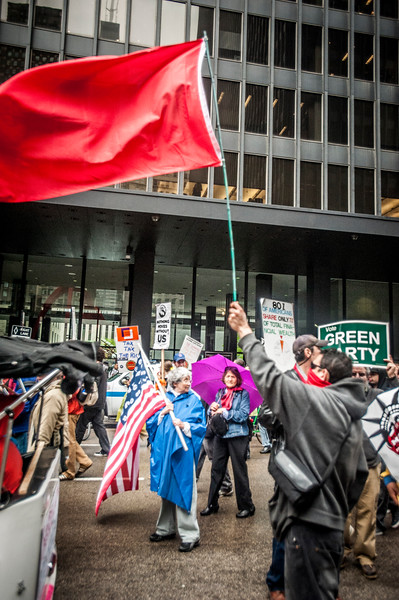 Rally for the 99% - May 1, 2012