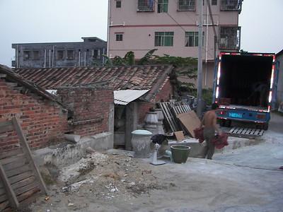 China Fiberglass Factory October 2008