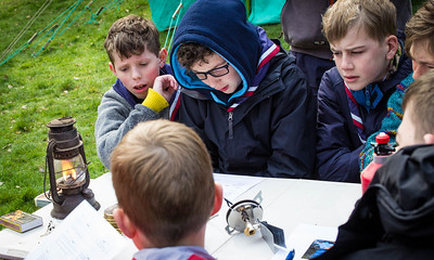 9th Walton/1st Molesey Bushcraft Camp