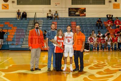 Boys Varsity Basketball - 2017