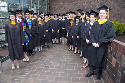 2014 Department of Chemistry Commencement
