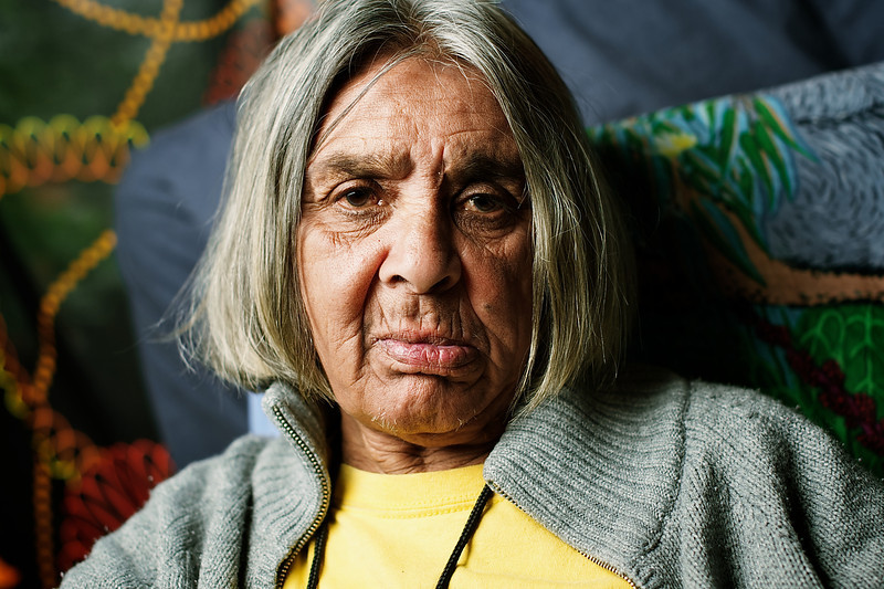 Aboriginal Elder Woman