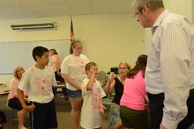 Oberweis visits Meadowview Elementary