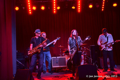 Pam Taylor Band @ The Saloon, NC Music Factory  10-14-13