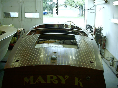 1956 Chris Craft Runabout.